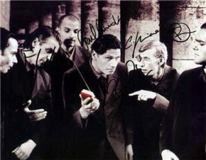 RAMMSTEIN BAND GROUP SIGNED PHOTO 8X10 RP AUTOGRAPHED METAL