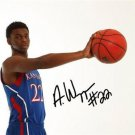 * KANSAS ANDREW WIGGINS SIGNED JERSEY PHOTO 8X10 RP AUTO JAYHAWKS BASKETBALL !
