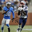 KENBRELL THOMPKINS SIGNED PHOTO 8X10 RP JERSEY AUTOGRAPHED * NEW ENGLAND