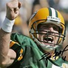 * BRETT FAVRE SIGNED PHOTO 8X10 RP AUTOGRAPHED * GREEN BAY PACKERS !