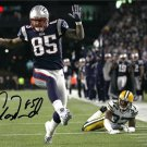AARON HERNANDEZ SIGNED PHOTO 8X10 AUTOGRAPHED NEW ENGLAND