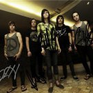 SLEEPING WITH SIRENS FULL BAND GROUP SIGNED PHOTO 8X10 RP AUTOGRAPHED