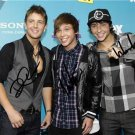 EMBLEM3 SIGNED PHOTO 8X10 RP  AUTOGRAPHED  * THE X FACTOR