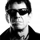 * LOU REED SIGNED PHOTO 8X10 RP AUTOGRAPHED * TRANSFORMER *