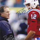 TOM BRADY BILL BELICHICK SIGNED PHOTO 8X10 RP AUTO AUTOGRAPHED * PATRIOTS *
