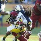 JADEVEON CLOWNEY SOUTH CAROLINA SIGNED 8X10 RP AUTO PHOTO ** MICHIGAN HIT