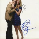 KALEY CUOCO & JOHNNY GALECKI SIGNED PHOTO 8X10 RP AUTOGRAPHED BIG BANG THEORY