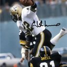 CHUCK MUNCIE SIGNED PHOTO 8X10 RP AUTO AUTOGRAPHED * NEW ORLEANS SAINTS