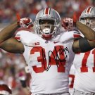 CARLOS HYDE SIGNED PHOTO 8X10 RP AUTOGRAPHED OHIO STATE BUCKEYES
