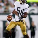EVERETT GOLSON SIGNED PHOTO 8X10 RP AUTOGRAPHED NOTRE DAME IRISH !