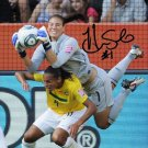 HOPE SOLO SIGNED PHOTO 8X10 RP AUTOGRAPHED * WOMEN'S OLYMPIC SOCCER