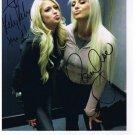 KELLY KELLY & MARYSE SIGNED PHOTO 8X10 RP AUTOGRAPHED DIVAS WWE WRESTLING