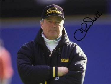 CHUCK NOLL SIGNED PHOTO 8X10 RP AUTOGRAPHED  * PITTSBURGH STEELERS HOF