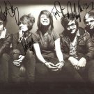 WE ARE THE IN CROWD GROUP BAND SIGNED PHOTO 8X10 RP AUTOGRAPHED