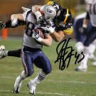 ** TROY POLAMALU SIGNED PHOTO 8X10 RP AUTOGRAPHED PITTSBURGH STEELERS