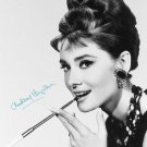 BREAKFAST AT TIFFANY'S AUDREY HEPBURN SIGNED POSTER PHOTO 8X10 RP AUTOGRAPHED