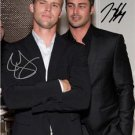 * TAYLOR KINNEY JESSE SPENCER SIGNED PHOTO 8X10 RP AUTOGRAPHED CHICAGO FIRE