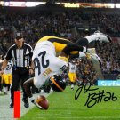 * PITTSBURGH STEELERS  LE'VEON BELL SIGNED PHOTO 8X10 RP AUTOGRAPHED LEVEON