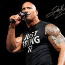 * THE ROCK SIGNED PHOTO 8X10 RP AUTOGRAPHED WWE Dwayne Johnson