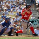 NATIONALS BRYCE HARPER SIGNED PHOTO 8X10 RP AUTOGRAPHED AUTO