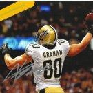 JIMMY GRAHAM SIGNED PHOTO 8X10 RP AUTOGRAPHED NEW ORLEANS SAINTS