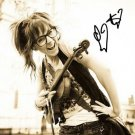* LINDSEY STIRLING  SIGNED PHOTO 8X10 RP AUTOGRAPHED * VIOLIN PLAYER *