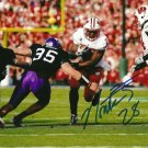 MONTEE BALL SIGNED PHOTO 8X10 RP AUTOGRAPHED WISCONSIN BADGERS DENVER BRONCOS