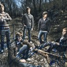 AUGUST BURNS RED SIGNED POSTER PHOTO 8X10 RP AUTOGRAPHED