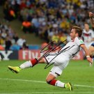 * MARIO GOTZE SIGNED POSTER PHOTO 8X10 RP AUTOGRAPHED GERMANY WINNING SHOT !
