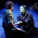 IDINA MENZEL ADAM GARCIA SIGNED PHOTO 8X10 RP AUTOGRAPHED WICKED THE MUSICAL