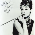 AUDREY HEPBURN SIGNED PHOTO 8X10 RP AUTOGRAPHED * Breakfast at Tiffany's