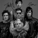 AVENGED SEVENFOLD BAND GROUP SIGNED POSTER PHOTO 8X10 RP AUTOGRAPHED THE REV