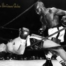 RUBIN HURRICANE CARTER SIGNED  PHOTO 8X10 RP AUTOGRAPHED BOXER **