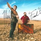AMERICAN PICKERS CAST SIGNED PHOTO 8X10 RP AUTOGRAPHED MIKE WOLF FRANK FRITZ
