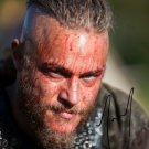 * RAGNAR * TRAVIS FIMMEL SIGNED POSTER PHOTO 8X10 RP AUTOGRAPHED * VIKINGS *