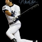 DEREK JETER SIGNED POSTER PHOTO 8X10 RP AUTO AUTOGRAPHED NEW YORK YANKEES
