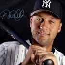 * DEREK JETER SIGNED POSTER PHOTO 8X10 RP AUTO AUTOGRAPHED NEW YORK YANKEES