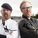 MYTHBUSTERS CAST SIGNED PHOTO 8X10 RP AUTOGRAPHED JAMIE HYNEMAN ADAM SAVAGE