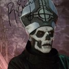 PAPA EMERITUS II SIGNED POSTER PHOTO 8X10 RP AUTOGRAPHED GHOST B.C. BC