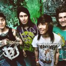 PIERCE THE VEIL BAND SIGNED PHOTO 8X10 RP AUTOGRAPHED VIC FUENTES