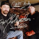 Andy & Johnathan Hillstrand signed Autographed photo rp 8x10 Deadliest Catch