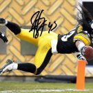 Troy Polamalu signed Autographed photo rp 8x10 Pittsburgh Steelers