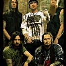 FIVE FINGER DEATH PUNCH BAND SIGNED AUTOGRAPHED PHOTO RP 8X10 ALL MEMBERS