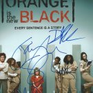 ORANGE IS THE NEW BLACK CAST SIGNED PHOTO 8X10 RP AUTOGRAPHED TAYLOR SCHILLING