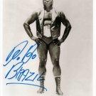 BOBO BRAZIL SIGNED PHOTO 8X10 RP AUTOGRAPHED WWF WWE HOF WRESTLING VINTAGE