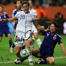 Abby Wambach signed photo 8x10 rp Autographed
