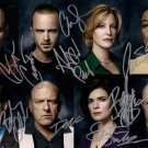 BREAKING BAD CAST SIGNED PHOTO 8X10 RP AUTOGRAPHED BRYAN CRANSTON AARON PAUL ++