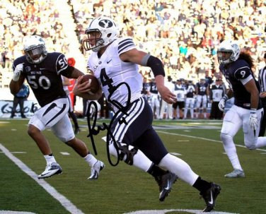 BYU TAYSOM HILL SIGNED PHOTO 8X10 RP AUTO AUTOGRAPHED BRIGHAM YOUNG