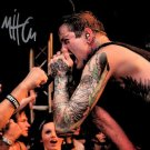 Mitch Lucker Signed Photo 8x10 rp Autographed Suicide Silence Autograph poster