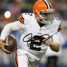 * JOHNNY MANZIEL SIGNED PHOTO 8X10 RP AUTOGRAPHED * CLEVELAND BROWNS